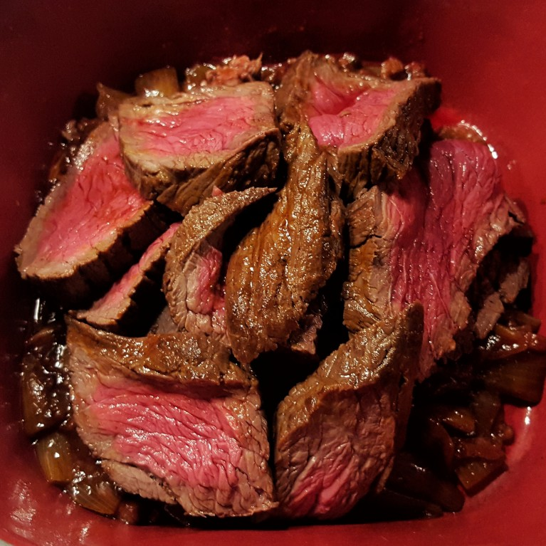 Roast beef. All things considered.