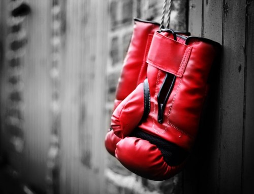 Woe is me: kickboxing edition